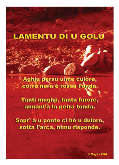 LAMENTU DI U GOLU (Magà Ettori - blog)