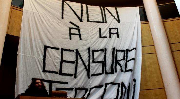 MAGA ETTORI - ASSEMBLEE DE CORSE - CONTRE LA CENSURE