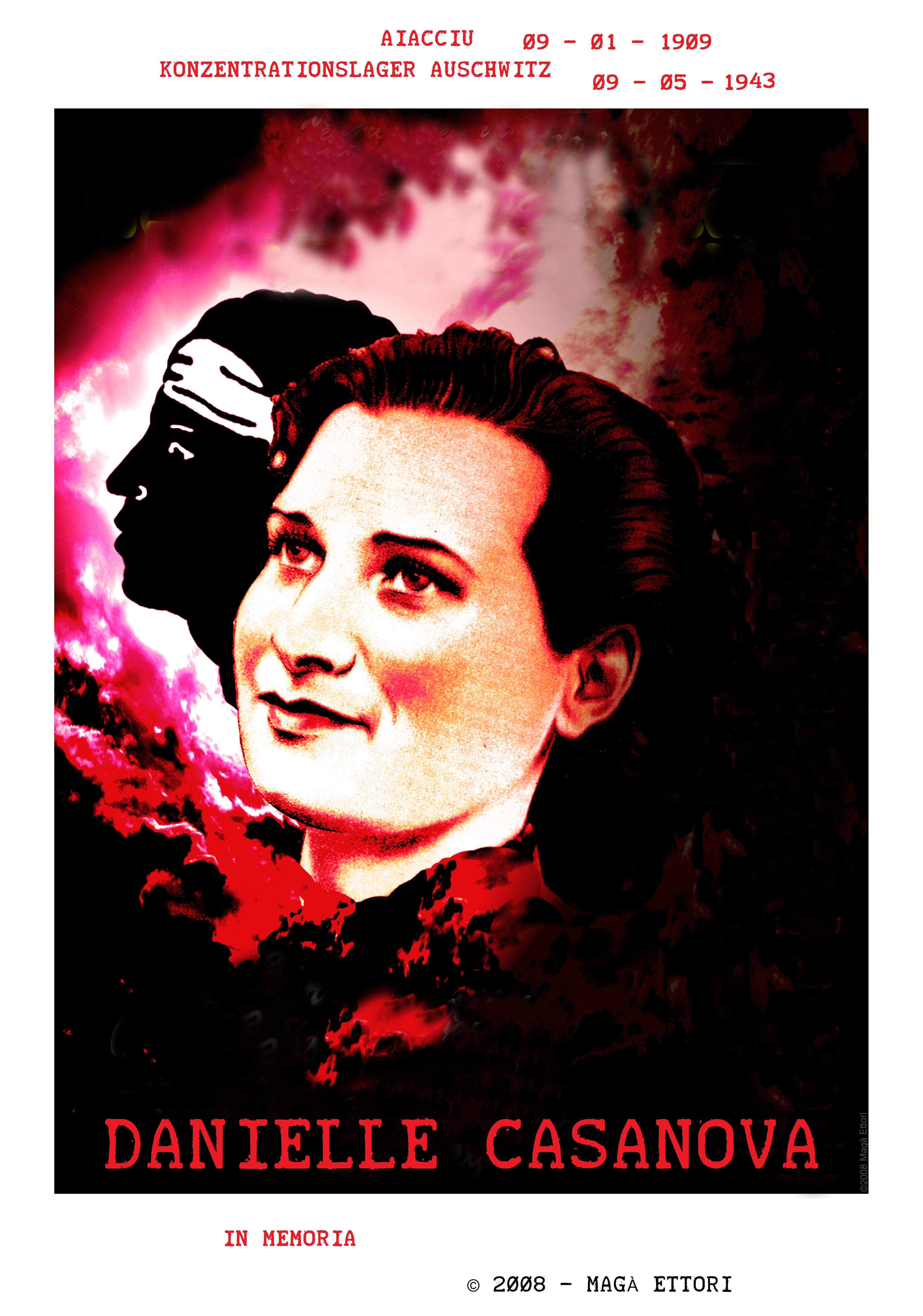 Konzentrationslager Auschwitz 1943 - Danielle Casanova (Magà Ettori)