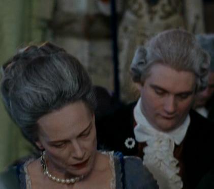 Judy Davis et Magà Ettori lors du tournage de Marie-Antoinette de Sofia Coppola