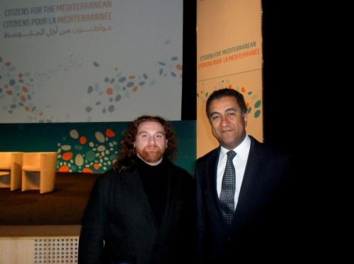 :      Magà Ettori (cinéaste, Institut Régional du Cinéma et de l'Audiovisuel), Fathallah Sijilm'assi (secrétaire général de l'Union pour la Méditerranée, ambassadeur du Maroc en France, chargé du Processus de Barcelone et du dialogue Méditerranéen de l'OTAN, banque Commerciale du Maroc),