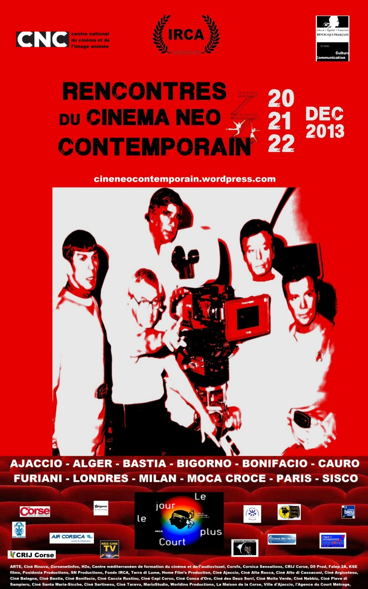 RENCONTRES DU CINEMA NEO CONTEMPORAIN 2013 - AFFICHE