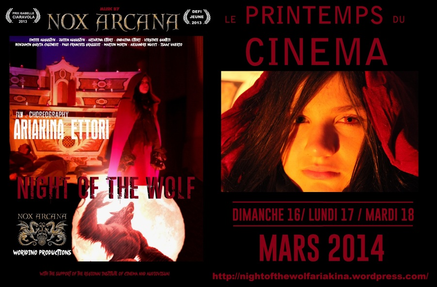 NIGHT OF THE WOLF - ARIAKINA ETTORI - PRINTEMPS DU CINEMA