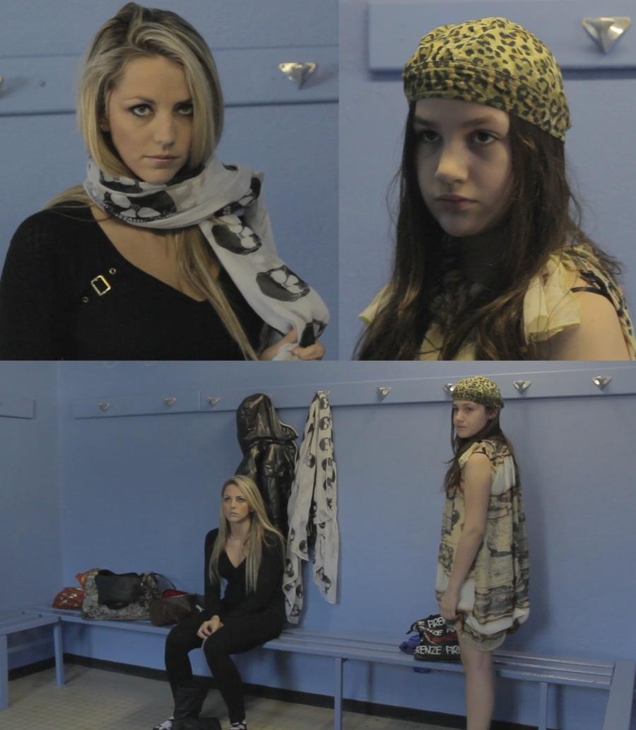 Ariakina Ettori - Christie Nicora - tournage ''I Tercani''