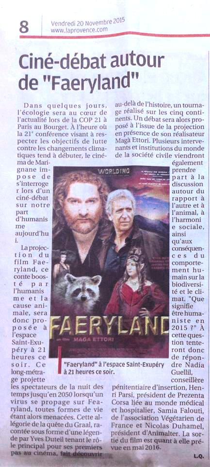 FAERYLAND - MAGA ETTORI - MARIGNANE - LA PROVENCE
