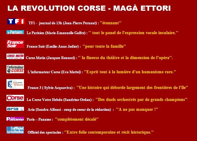 revolution corse - Magà Ettori