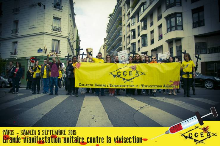 MARCHE CONTRE LA VIVISECTION (blog MAgà Ettori)