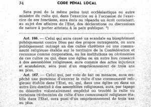 Alsace - Moselle - code penal local (Magà Ettori - Blog)