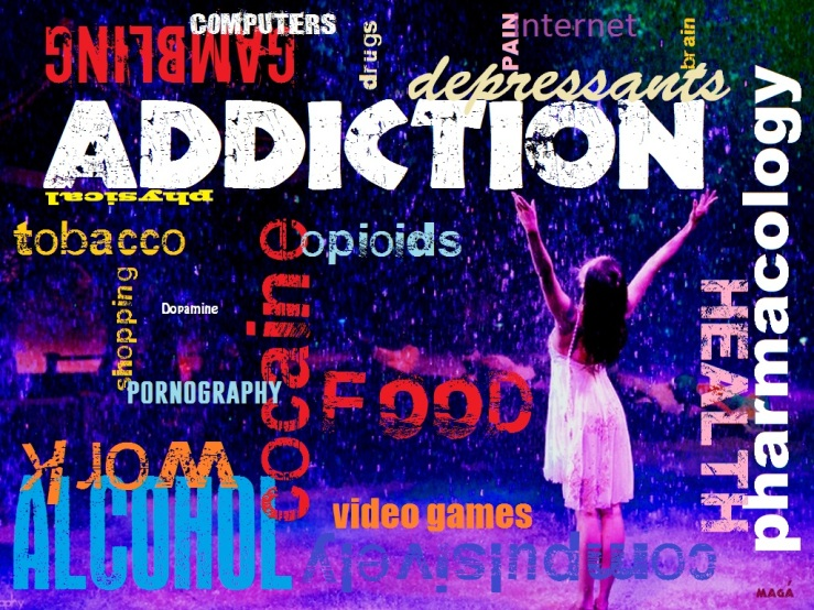 addiction, pluie violette - Magà Ettori - Chroniques animalistes