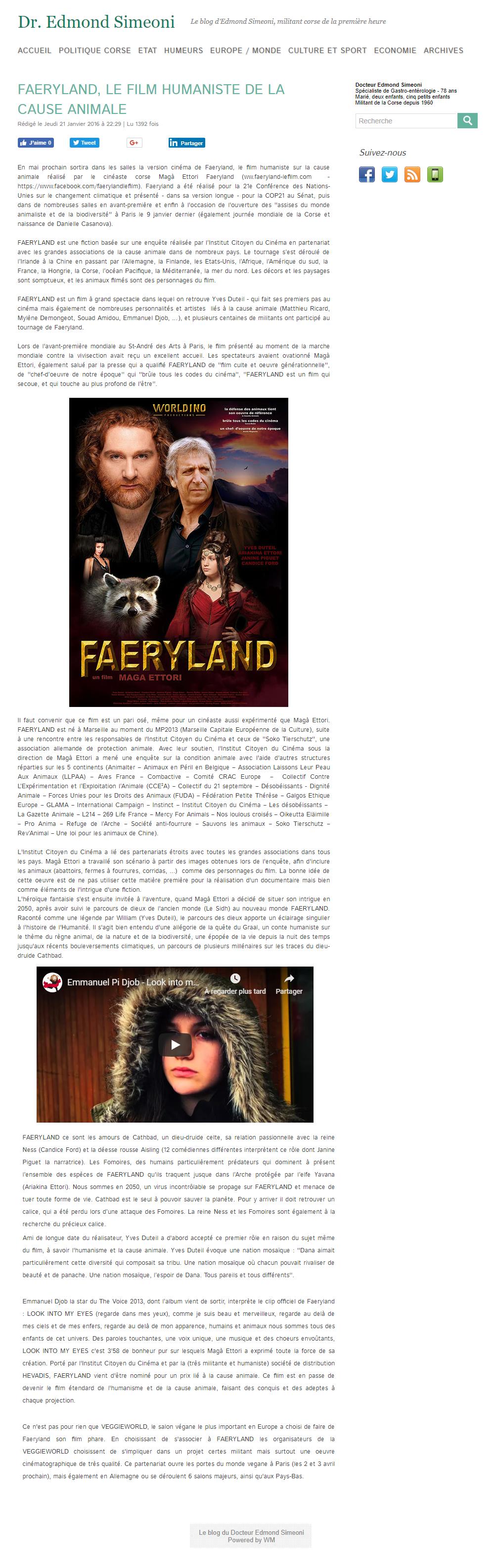 Edmond Simeoni - Faeryland, une sortie internationale couronnée de succès - 3.png