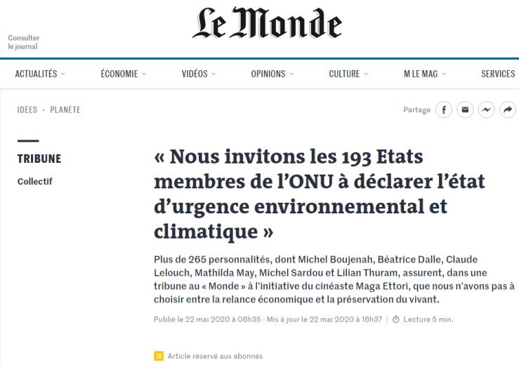 Magà Ettori - Le Monde